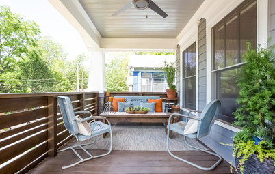 Porch-Happy: A Place for Hanging Out With Wine and the Dogs