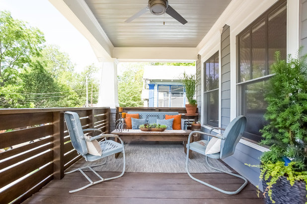 Craftsman Porch by Urban Purpose Design; Design + Build