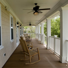 traditional porch by Blue Sky Building Company