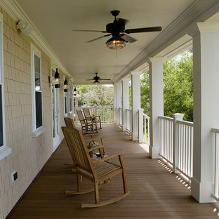 Inspiration for a timeless porch remodel in Raleigh