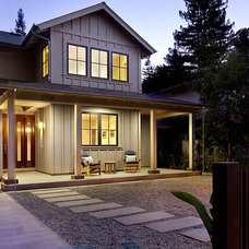 Modern Porch by SDG Architecture, Inc.