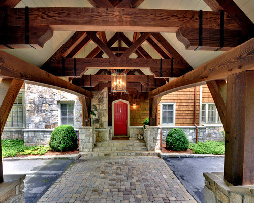 Houzz Timber Frame Truss Design Ideas Amp Remodel Pictures