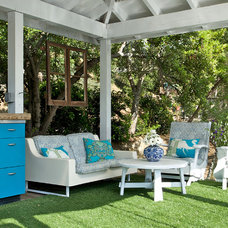 Eclectic Porch by Shannon Ggem ASID