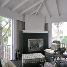 traditional porch by Lake Country Builders