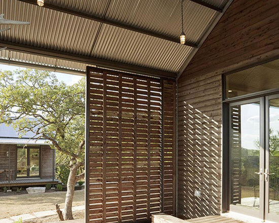 louvered panels | houzz