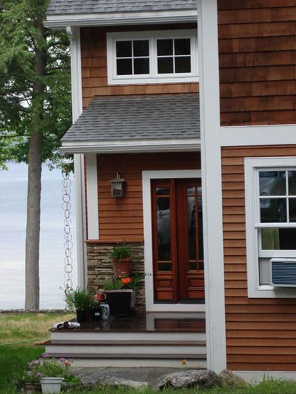 Traditional Porch by GMT Home Designs Inc.