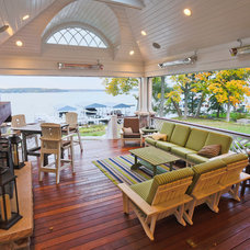 Traditional Porch by Lake Geneva Architects