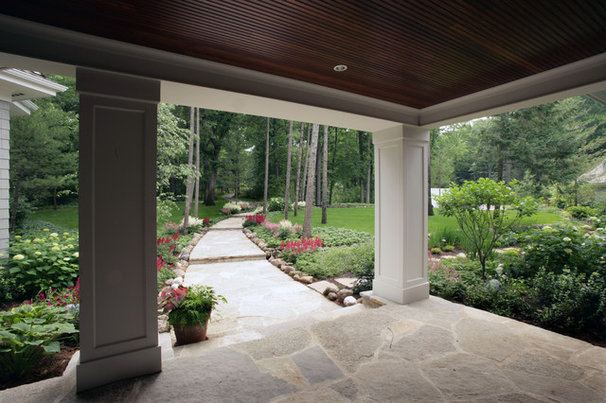 Traditional Porch by Johnson Design Inc.