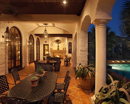 Houzz Mediterranean Porch Design Ideas Amp Remodel Pictures
