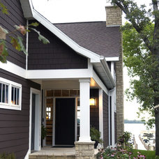 Traditional Porch by Bergland + Cram Architects