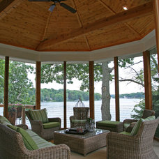 Traditional Porch by Interior Changes home design