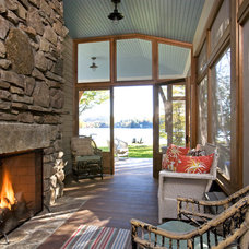 Traditional Porch by JAMES DIXON ARCHITECT PC