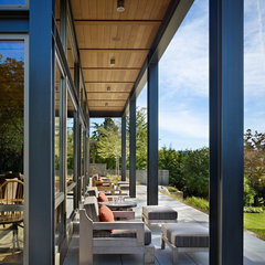 modern porch by McClellan Architects