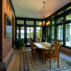 Traditional Porch by Aulik Design Build
