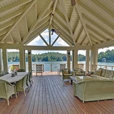 Rustic Porch by Envision Web
