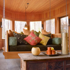 Porch by Lucy Interior Design