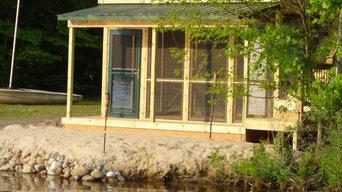 Lake Side Sunroom