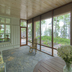 traditional porch by TEA2 Architects