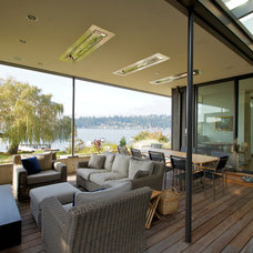 Contemporary Porch by Jeff Luth - Soldano Luth Architects