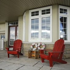 Traditional Porch by Over The Edge Design