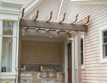 Lakefront Conservatory Home Cabinetry