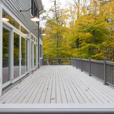 Traditional Porch by Clemleddy Construction