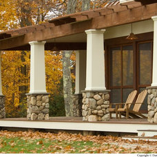 Craftsman Porch by Wright-Ryan Homes