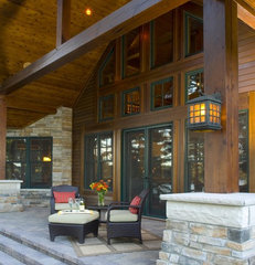 traditional porch by Gabberts Design Studio