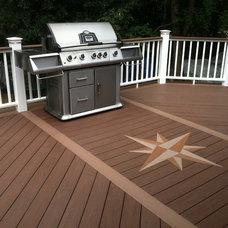 Traditional Porch by Legacy Decks
