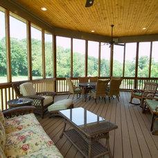 Tropical Porch by Lancaster Craftsmen Builders Inc.