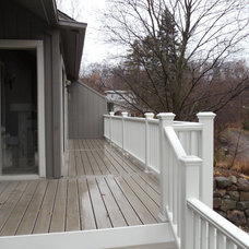 Traditional Porch by DOWN HOME CONSTRUCTION