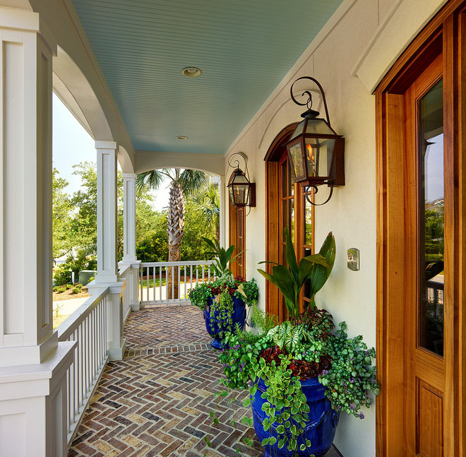 Traditional Porch by Carolina Lanterns