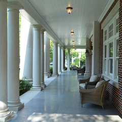 traditional porch by Institute of Classical Architecture & Art - Texas