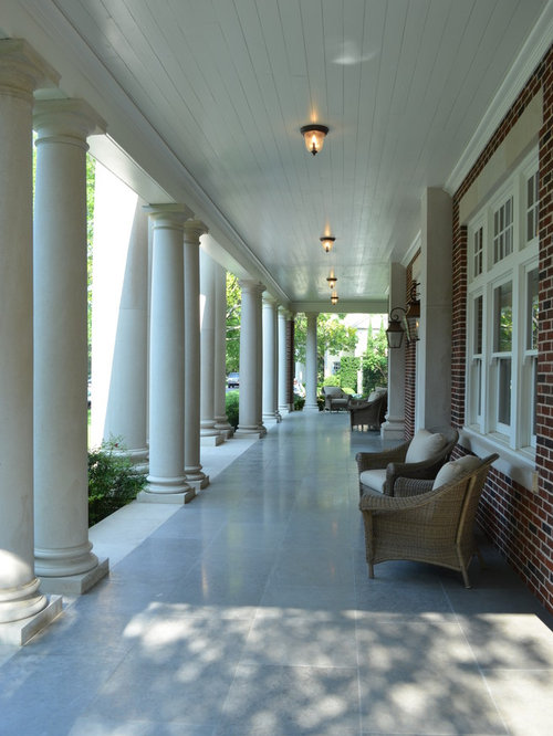Tiled Porch Houzz
