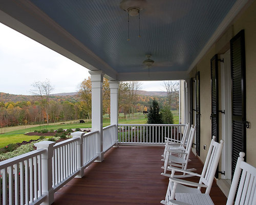 Blue porch ceiling ideas pictures remodel and decor for Exterior beadboard porch ceiling