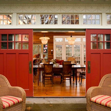 Traditional Porch by Sandra Lindsay Design