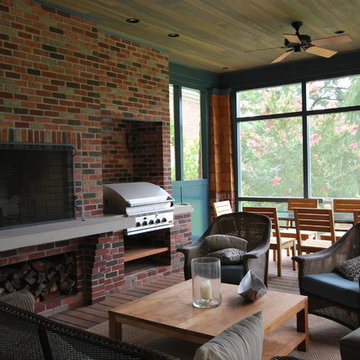 Lawson Screened Porch with Outdoor Kitchen