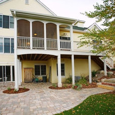 Traditional Porch by Dominion Builders