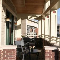 Rustic Porch by Sarah Susanka, FAIA