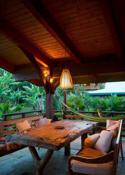 Tropical Porch by Ashley Camper Photography