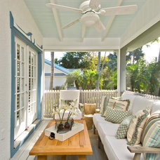 Beach Style Porch by LDL Interiors