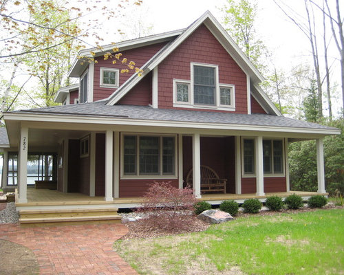 Fotos de terrazas dise os de porches cerrados de estilo for Imagenes de porches de casas