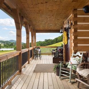 Farmhouse porch idea in Other