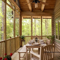 Traditional Porch by Home Design Elements LLC