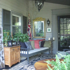 Eclectic Porch by Irresistible Homes