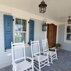 Beach Style Porch by Anthony Charles Homes, Inc.
