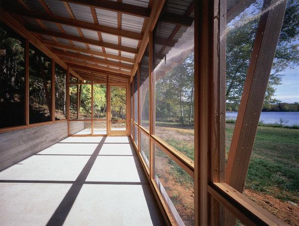 Modern Porch by SALA Architects