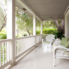 Traditional Porch by Peter Vincent Architects