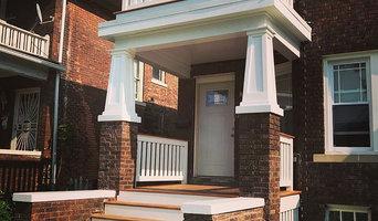 Lothrop Street Porch