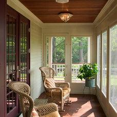 Traditional Porch by Siemasko + Verbridge